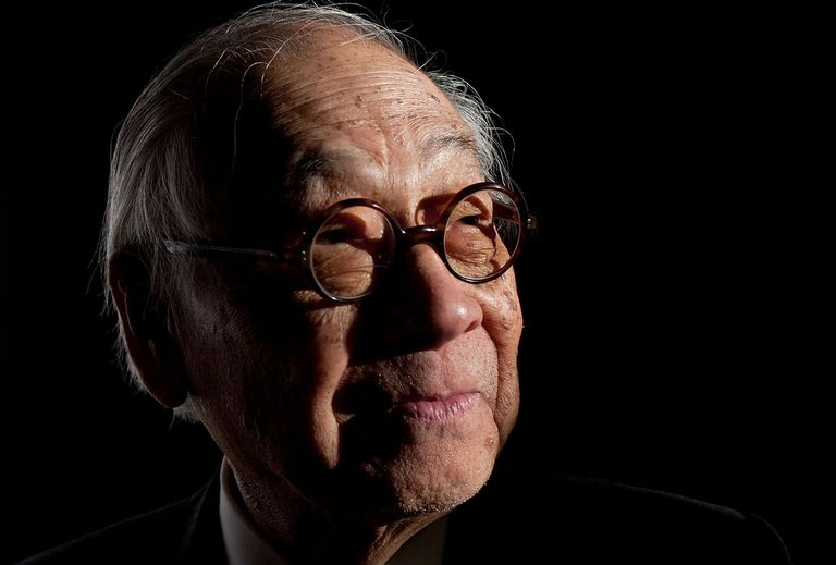 Architect I.M. Pei in 2009, born in China 1917