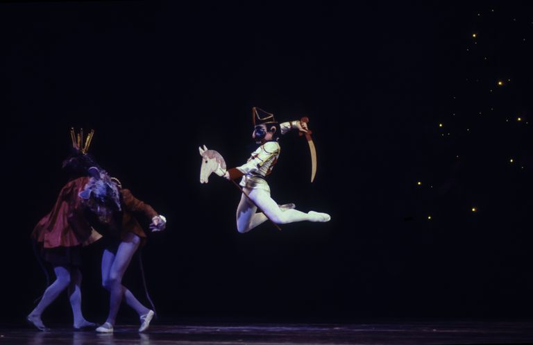 Mikhail Baryshnikov In 'The Nutcracker'