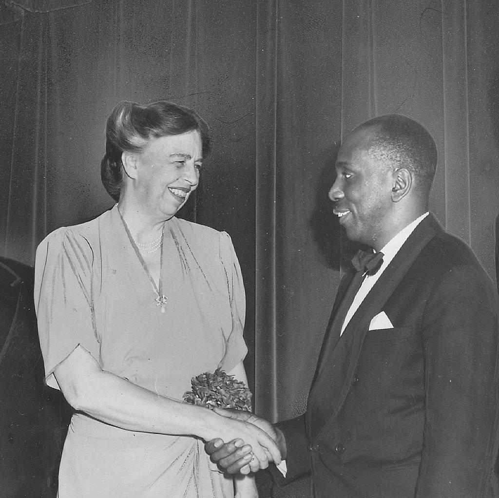 Howard Thurman and Eleanor Roosevelt, 1944