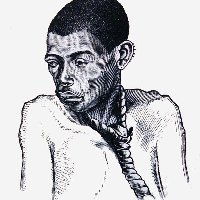 Female East African Slave