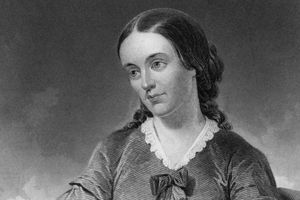 Portrait of early feminist writer Margaret Fuller