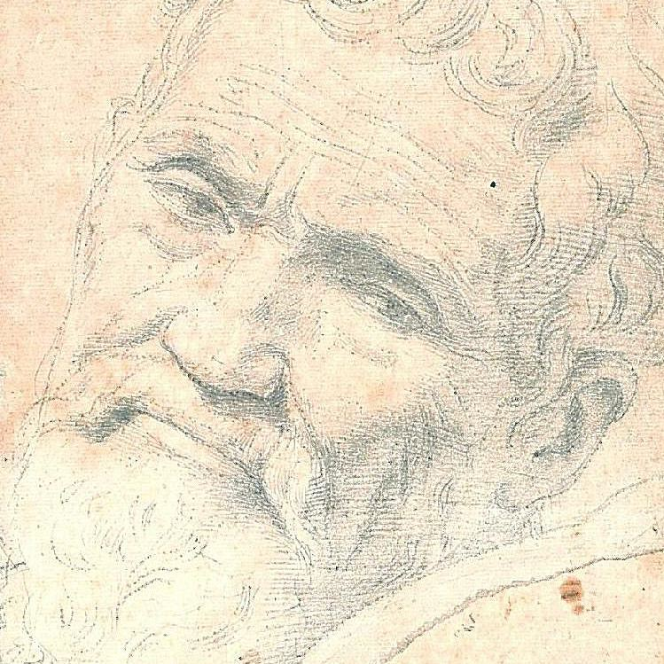 A rendering by Michelangelo's student and friend
