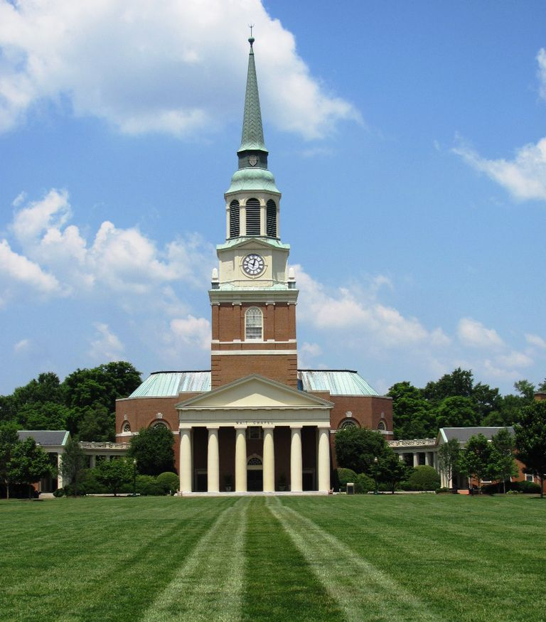 Wait Chapel at Wake Forest University