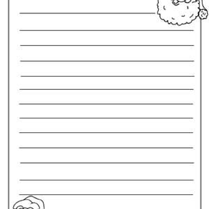 Christmas Writing Paper Template from www.thoughtco.com