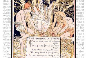 Aesop's Fable of the Bundle of Sticks