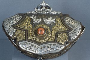 purse with Tibetan silver accents