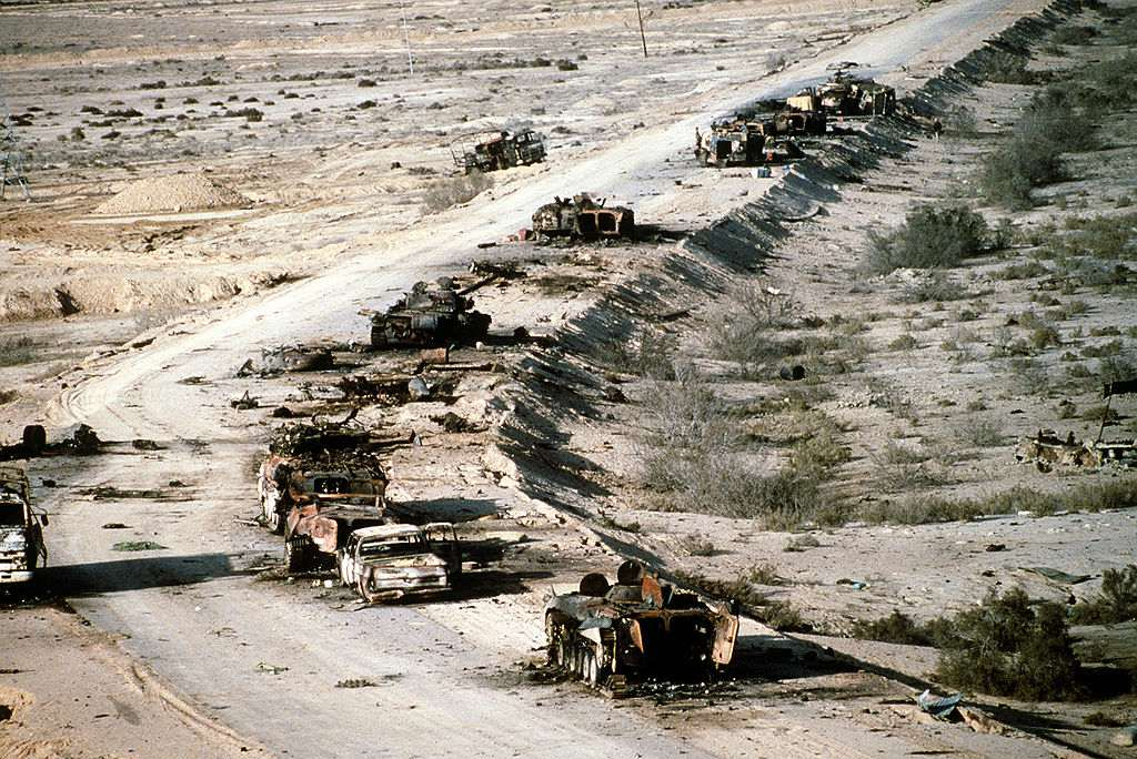 Defeated Iraqi forces during Gulf War