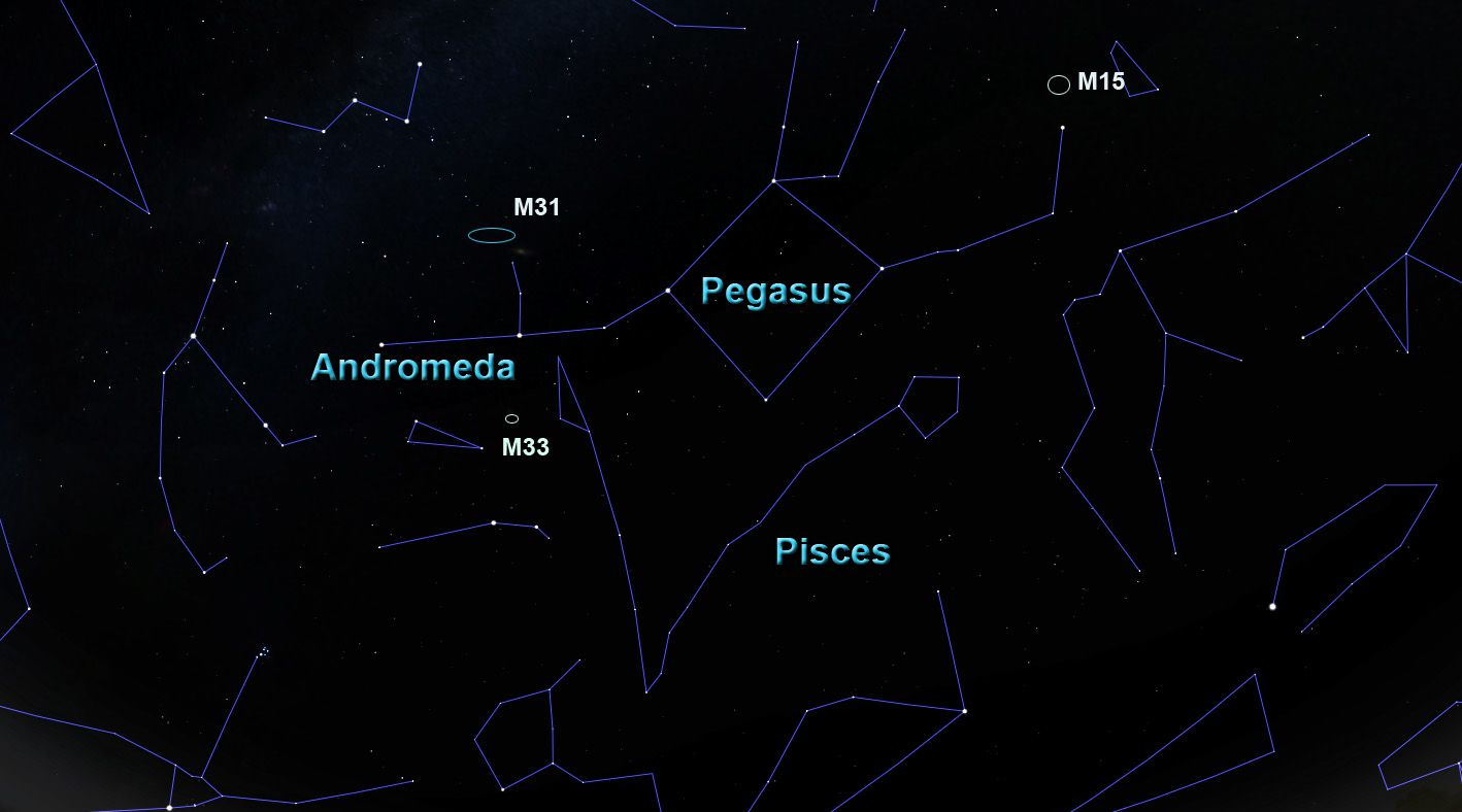 The Constellation Andromeda | Science Facts