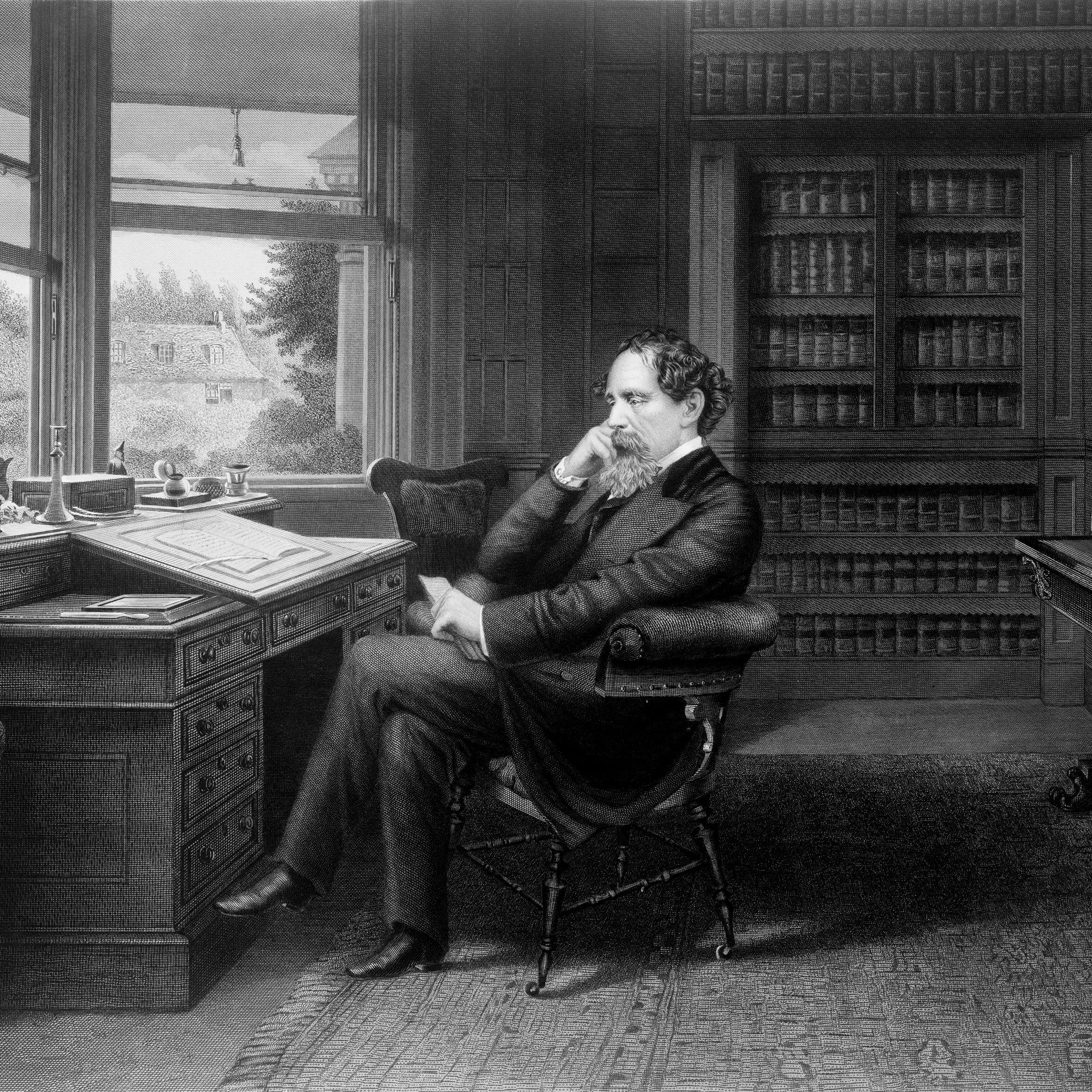 Biography of Charles Dickens, English Novelist