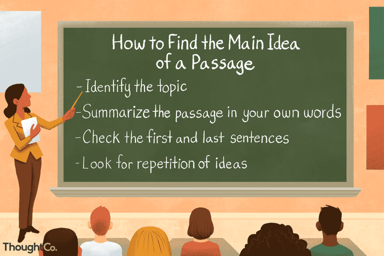 Having A Hard Time Focusing Research Identifies Complex Of >> What A Main Idea Is And How To Find It