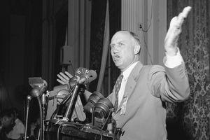 Photograph of politician Strom Thurmond