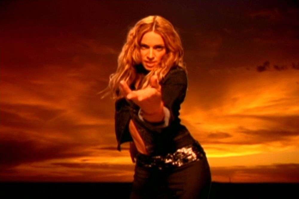 Image result for ray of light madonna music video