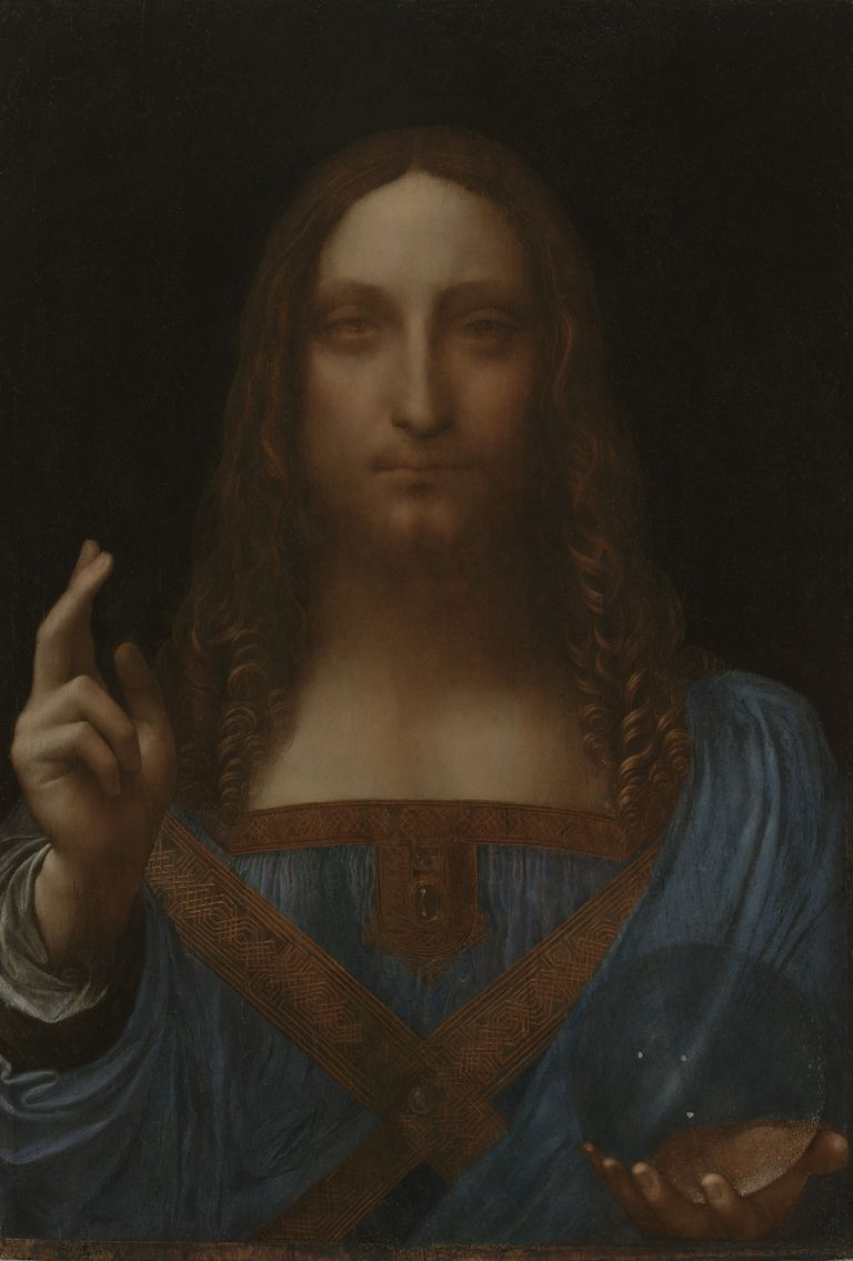 Leonardo da Vinci - Christ as Salvator Mundi, ca. 1499 onwards