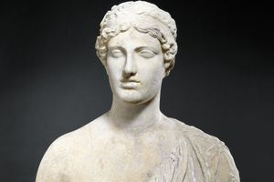 The Oxford Bust, an ancient sculpture of Sappho