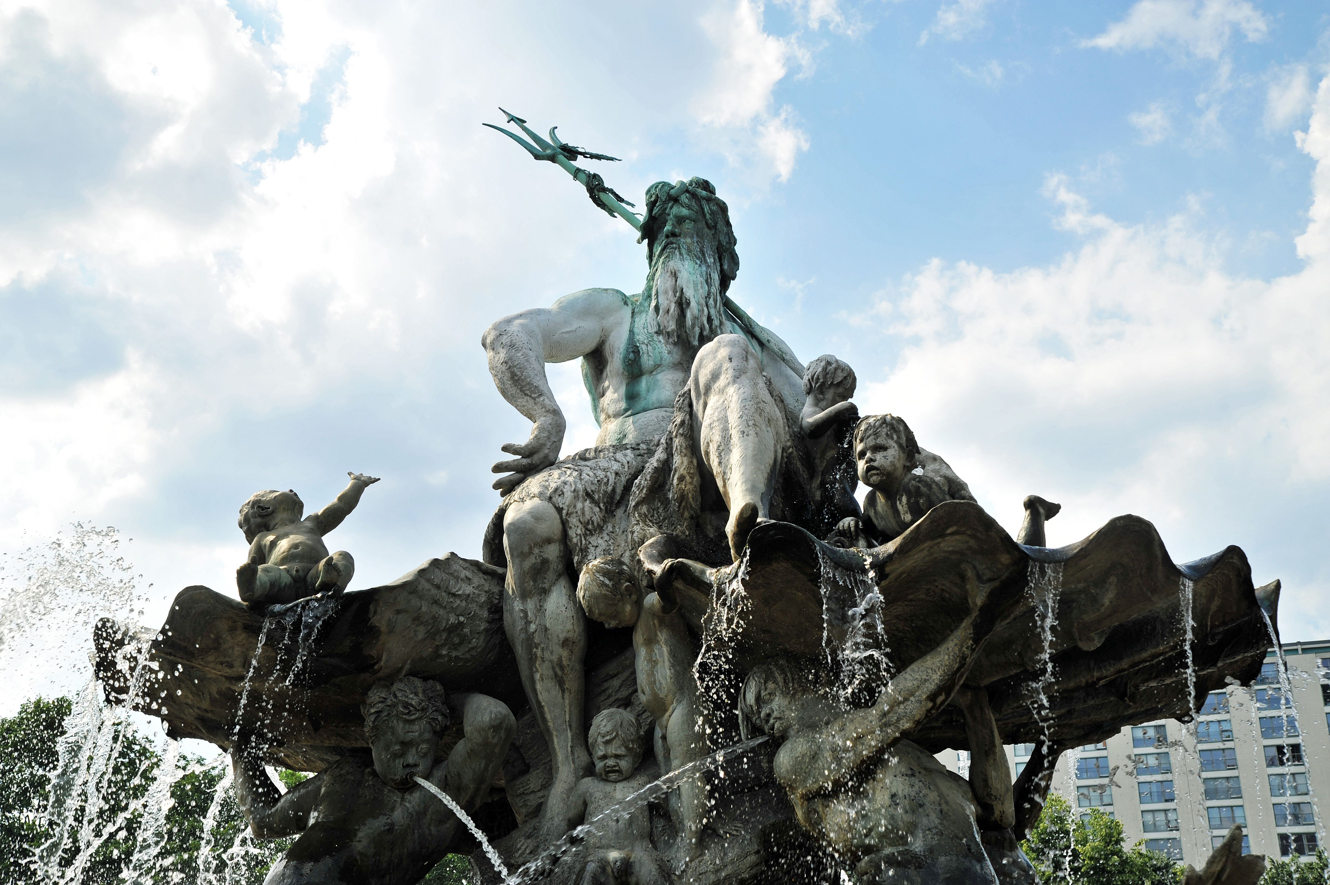 Poseidonbrunnen in Berlin