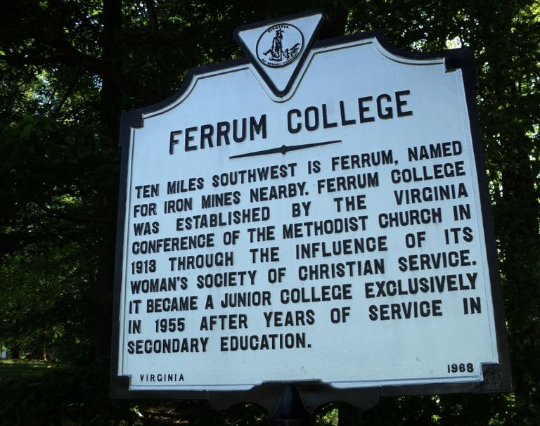Ferrum College Historic Marker