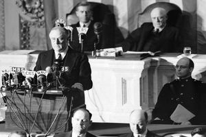 FDR at Infamy speech