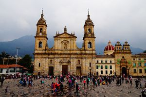 Cathedral in Bogotá, Colombia