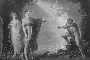 Act I Scene ii from The Tempest