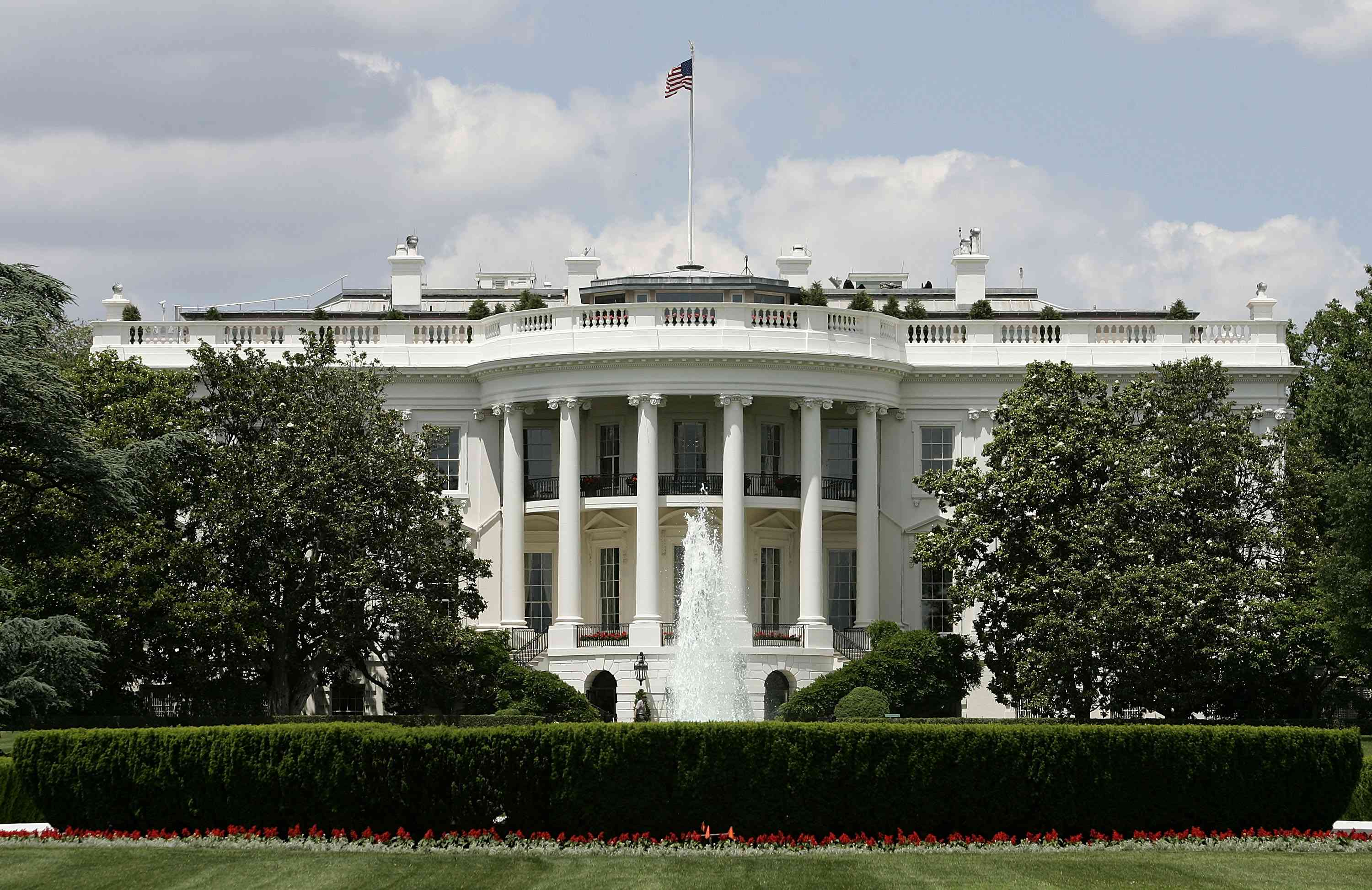 The White House became an example of the federalist style