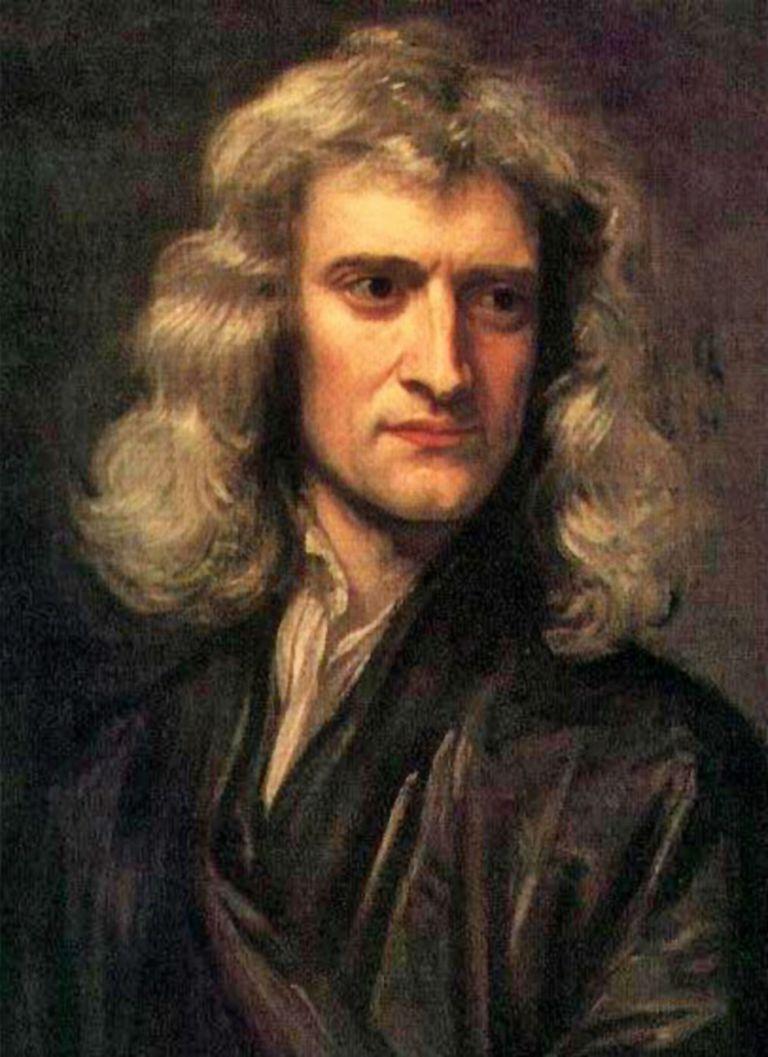 Painting of Sir Isaac Newton