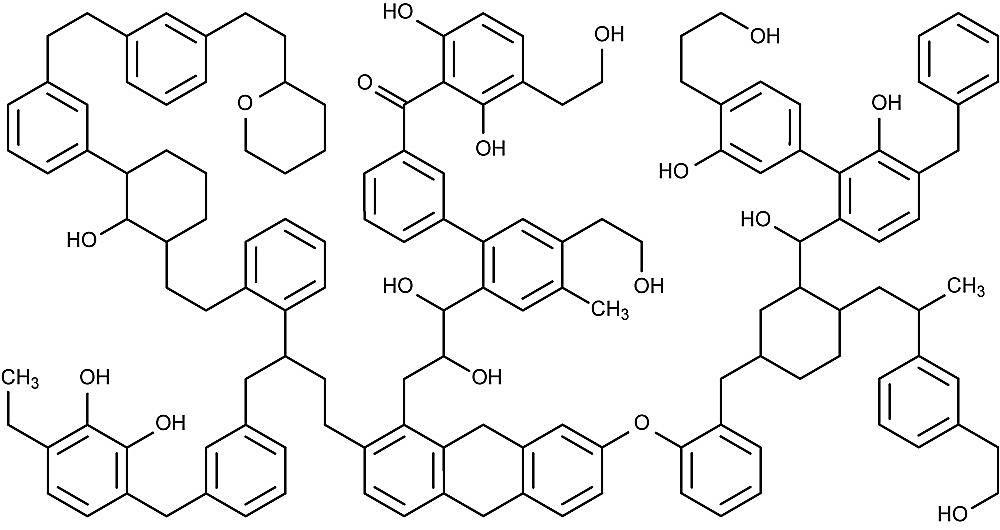 Esta es la estructura química del SEXO.