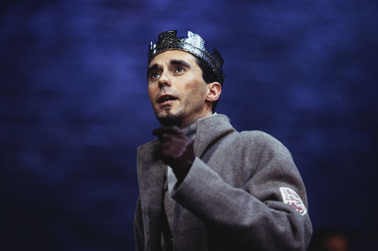 Actor Guy Henry in King John
