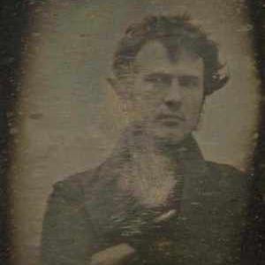Robert Cornelius Self-Portrait Approximate quarter-plate daguerreotype, 1839