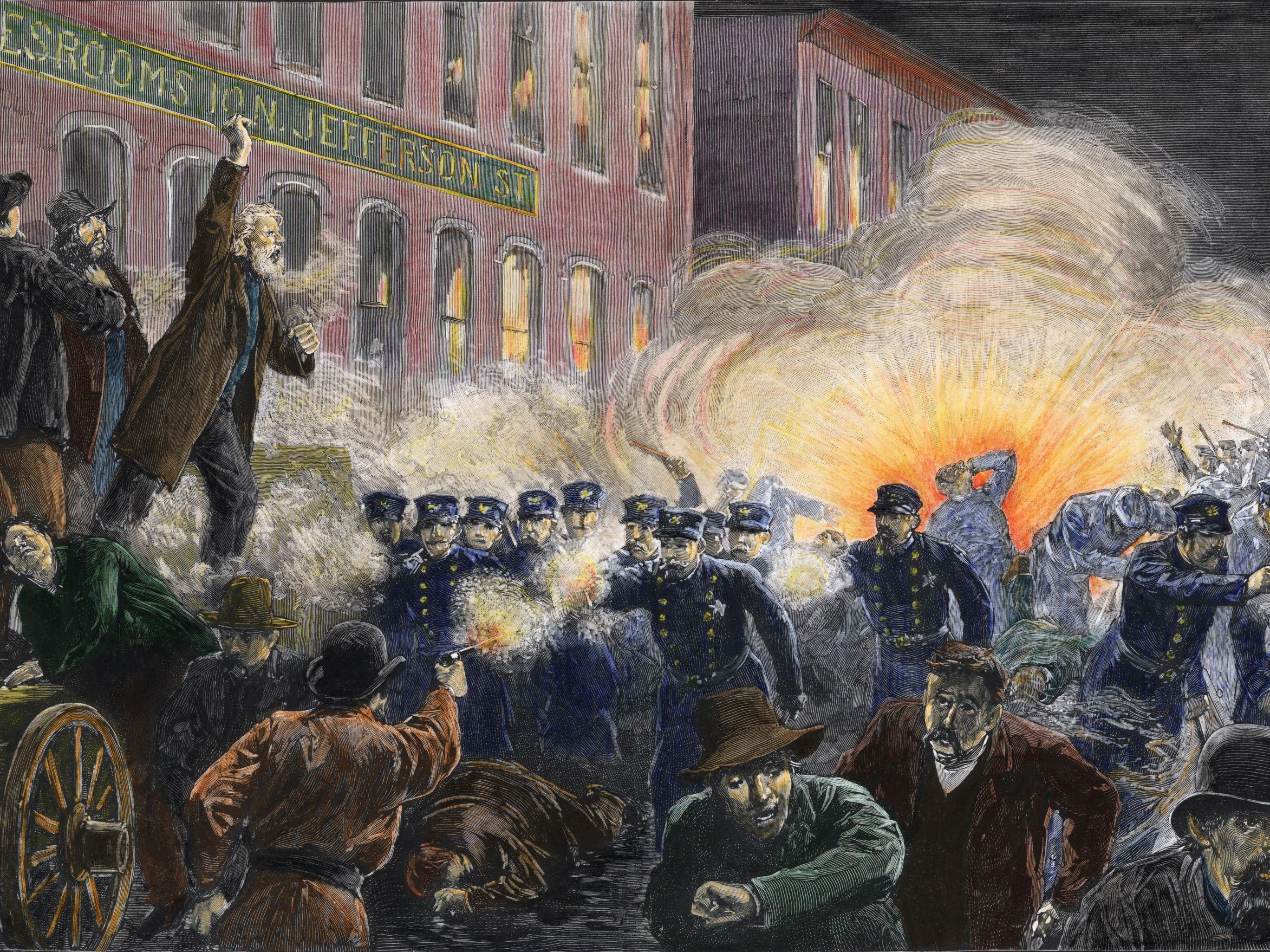The Haymarket Riot: 1886 Labor Incident