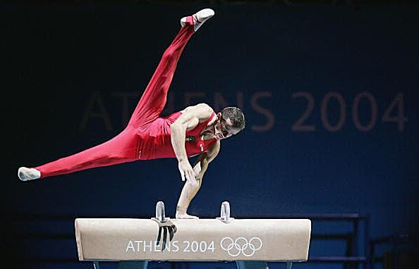 Pommel Horse Photo with Marius Urzica
