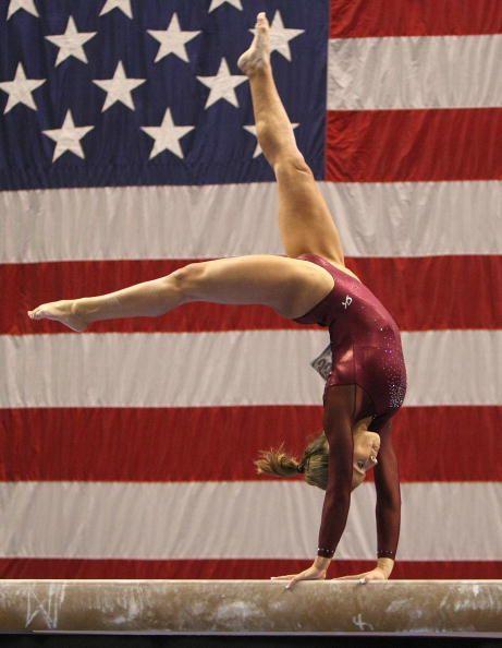 Gymnast Alicia Sacramone