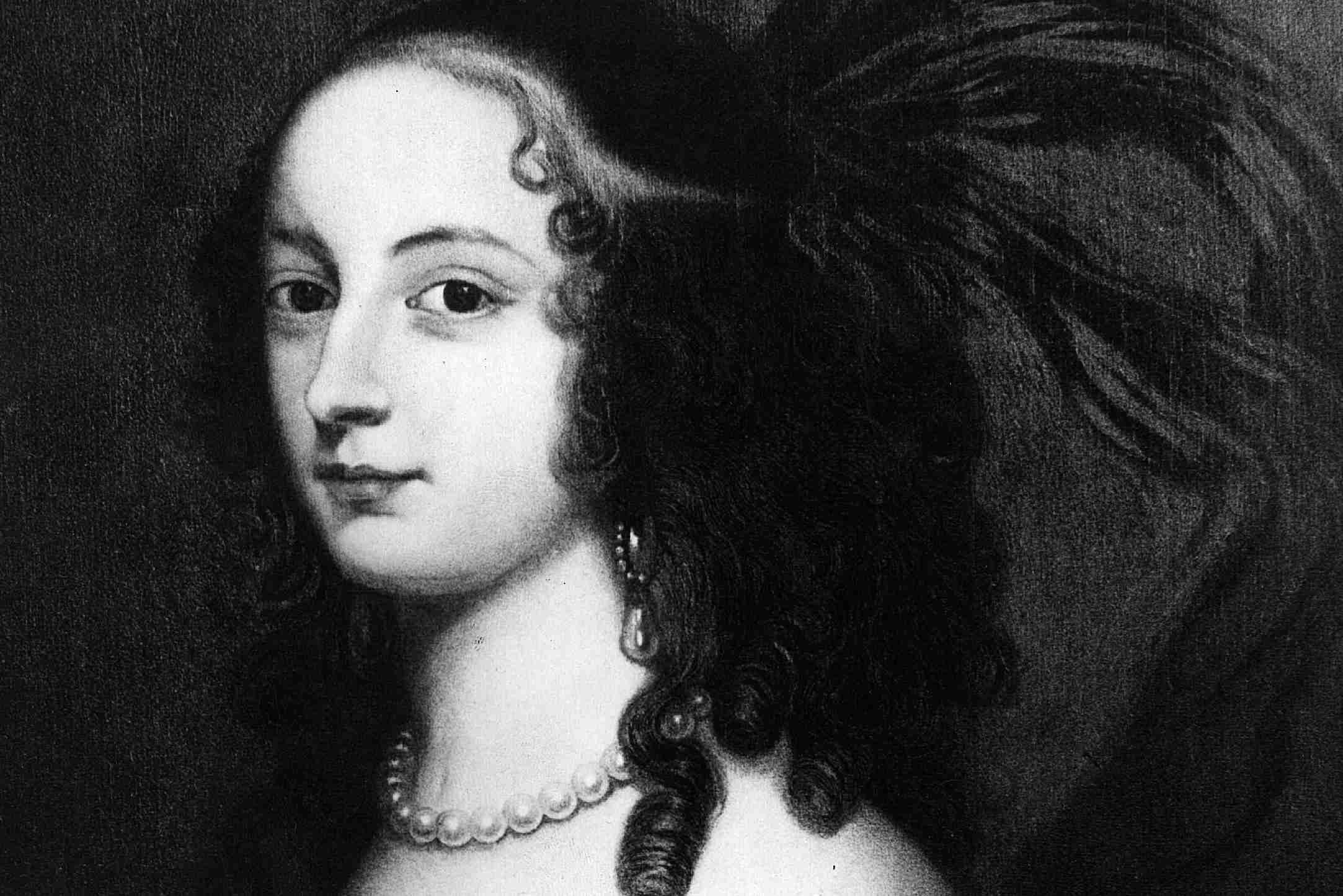 Sophia of Hanover, Electress of Hanover from a painting by Gerard Honthorst