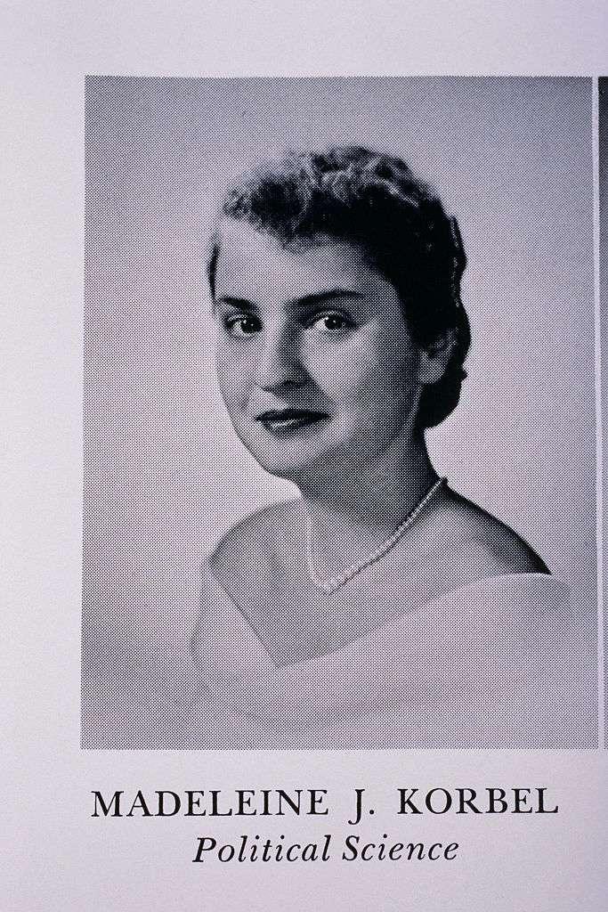 Senior Portarit from Wesley College of Madeleine Albright