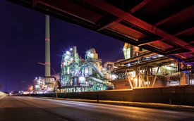 Industrie at twilight