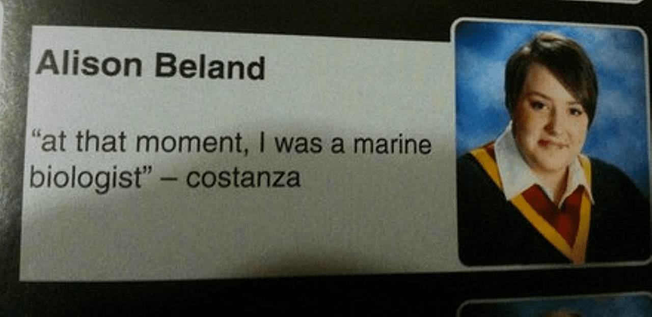 Hilarious yearbook quotes that belong a hall of fame urtaz Image collections