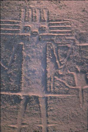 The Atacama Giant: Geoglyph of Cerro Unita, Pozo Almonte, Chile.
