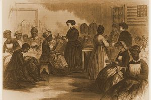 Reconstruction-era vocational school to learn sewing