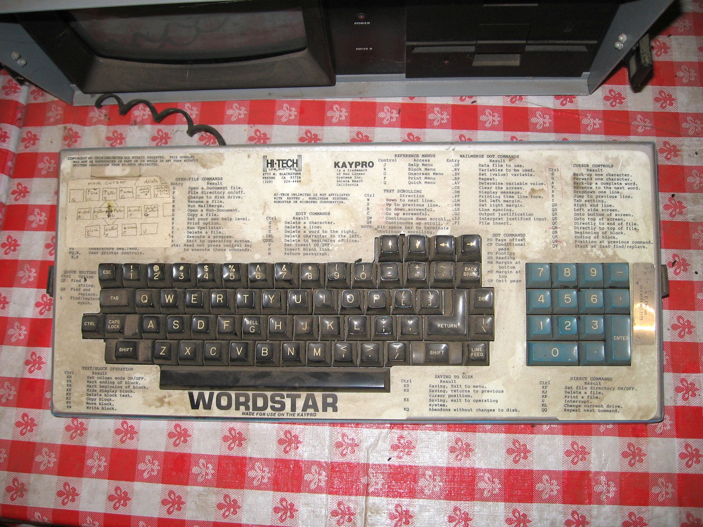 WordStar—The First Word Processor