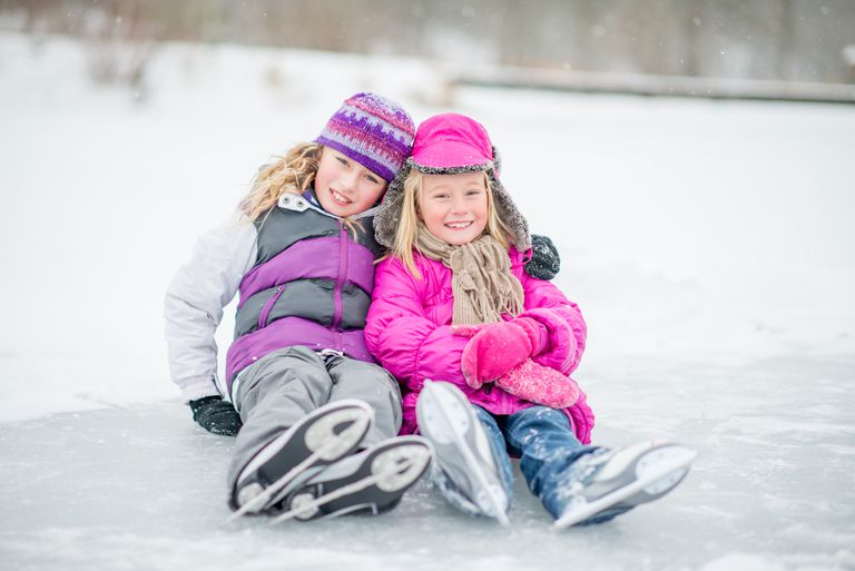 Children of All Ages Can Learn to Ice Skate