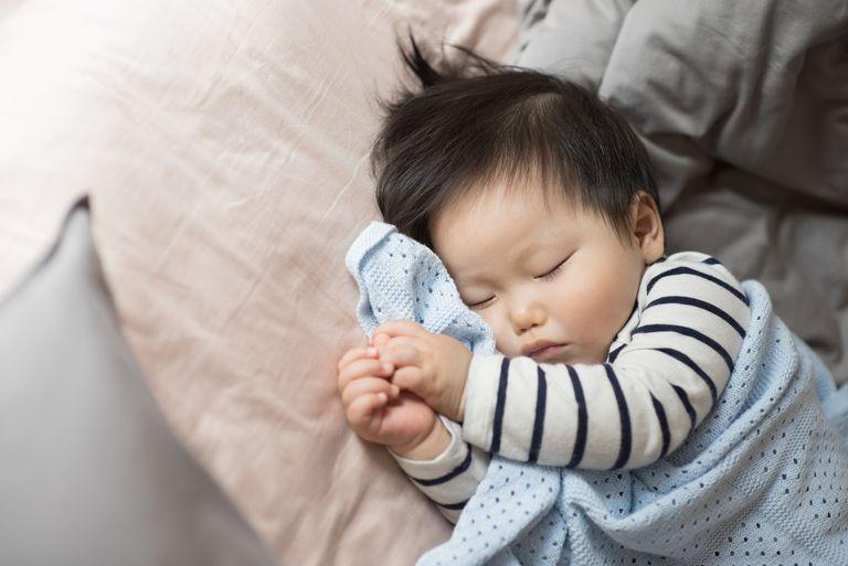 Sleeping baby boy