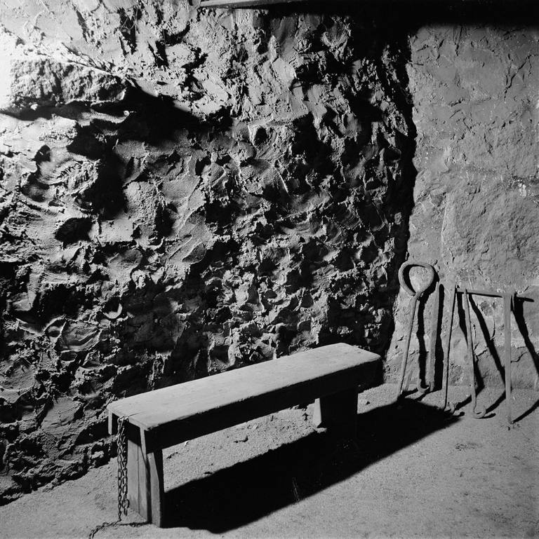 Jail Cell Used During Salem Witch Trials In Salem, Massachusetts