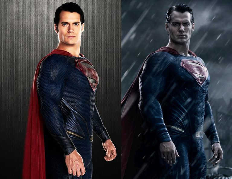 """Batman v Superman"" Costume Comparison"