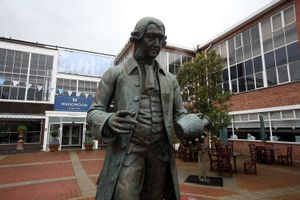 Statue of Josiah Wedgwood
