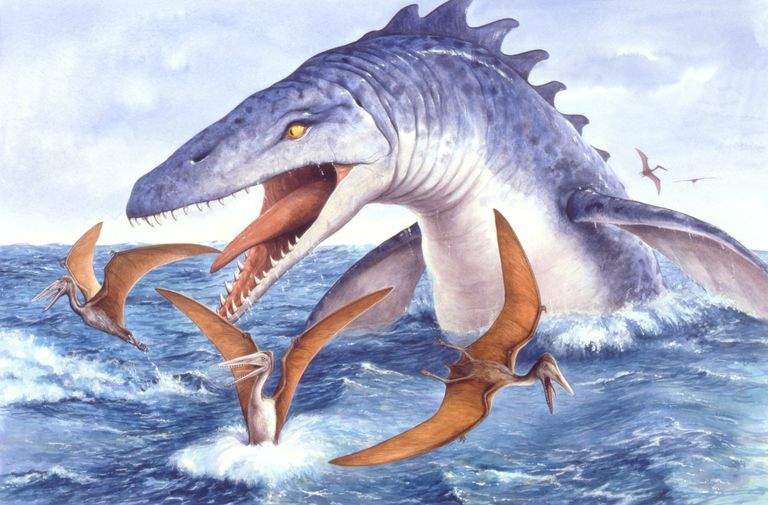 This Cgi Drawing Shows The Possible Appearance Of Baryonyx A Dinosaur From Early Cretaceous