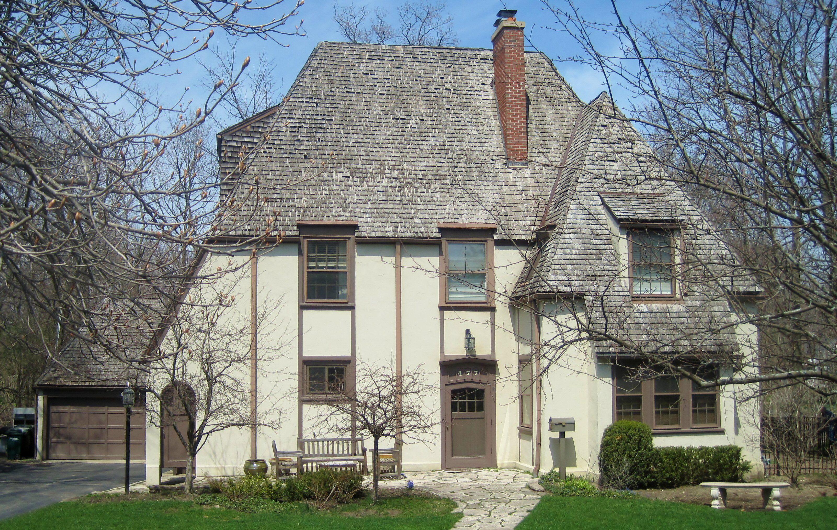 Français style éclectique, vers 1925, Highland Park, Illinois
