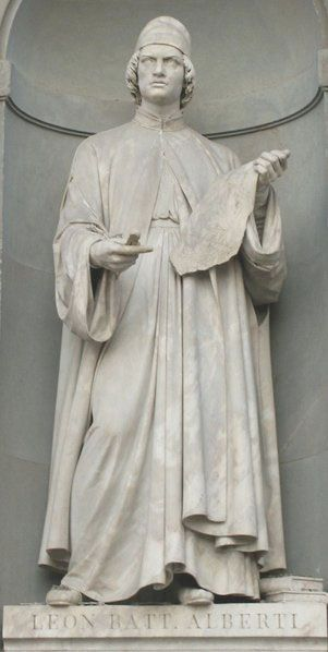 Leon Battista Alberti Statue