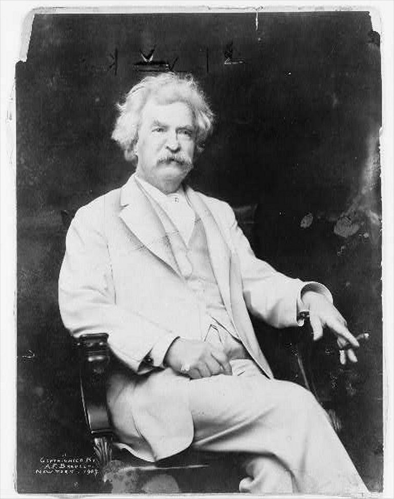 Good High School Essays Mark Twain Samuel Langhorne Clemens  Library Of Congress Science Essay Ideas also Compare And Contrast Essay Topics For High School Essay On The Decay Of The Art Of Lying By Mark Twain The Yellow Wallpaper Character Analysis Essay