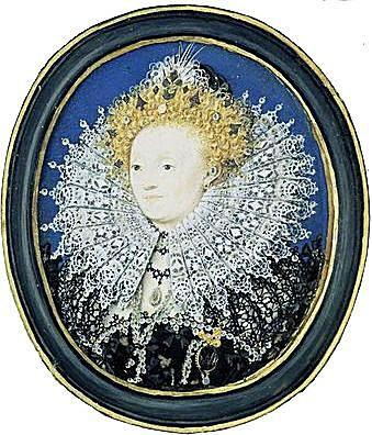 Elizabeth I - Painting by Nicholas Hilliard