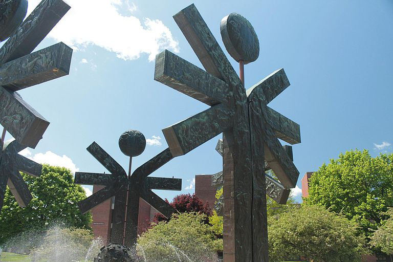 Campus Sculpture at the College at Brockport (SUNY)