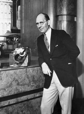 Charles Kettering with His Electric Self Starter